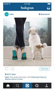 New call to action link on sponsored posts